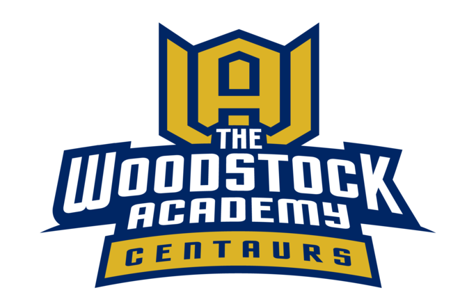 The Woodstock Academy Centaurs logo